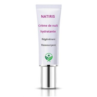 Crème de Nuit hydratante - Natiris